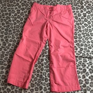 J. Crew City Fit Pink Ankle Pants, 8S